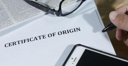 Foto Aturan Baru dalam Dokumen Certificate of Origin