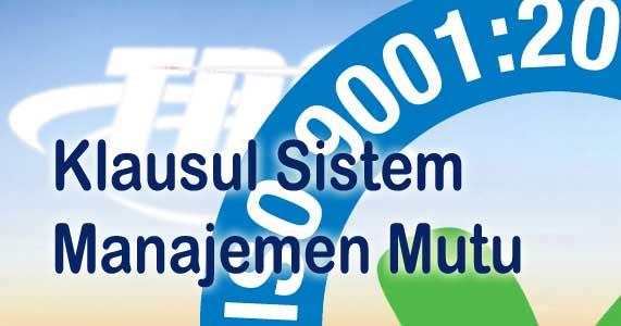 Foto Klausul Sistem Manajemen Mutu
