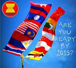 Foto Pasar Bebas Asean 2015 Sebentar Lagi
