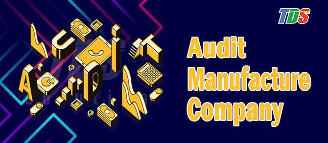 Foto Audit Manufacture Company