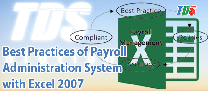Foto Best Practices of Payroll Administration System with Excel 2007