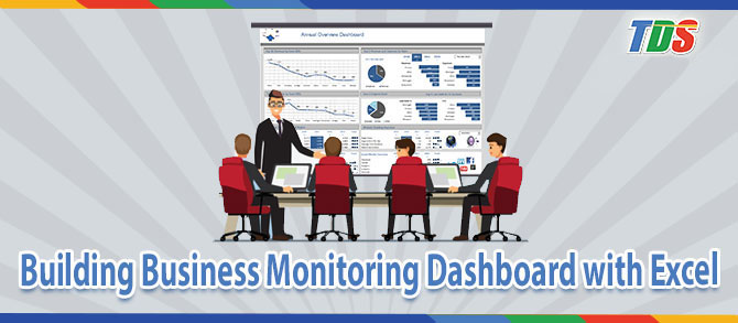 Foto Building Business Monitoring Dashboard with Excel