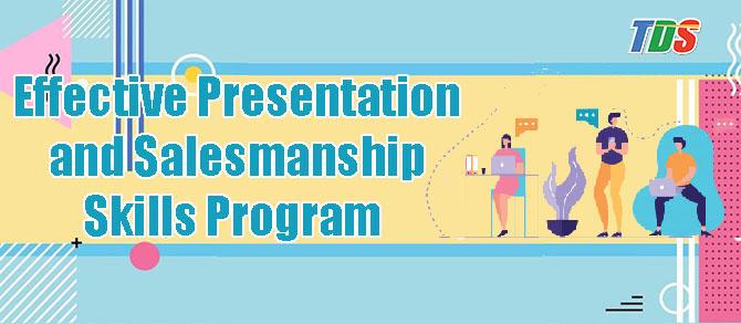 Foto Effective Presentation and Salesmanship Skills Program