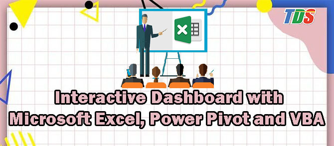 Foto Interactive Dashboard with Microsoft Excel, Power Pivot and VBA