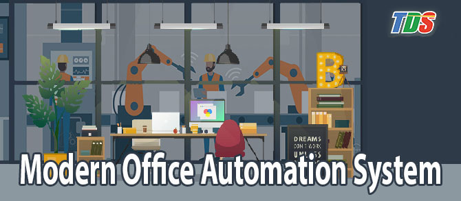 Foto Modern Office Automation System