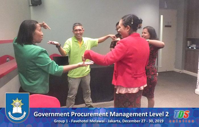 Foto training Government Procurement Management Level 2 [Group I]
