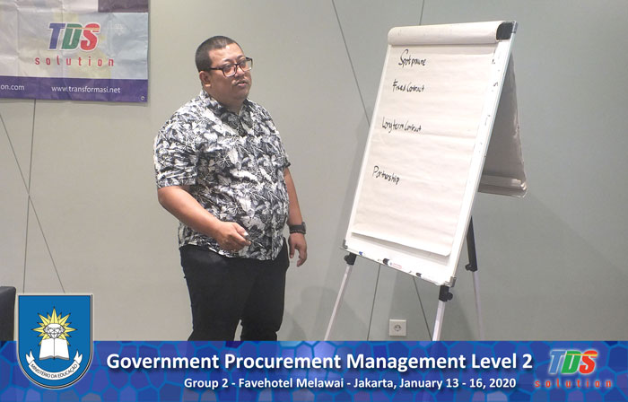 Foto training Government Procurement Management Level 2 [Group II]