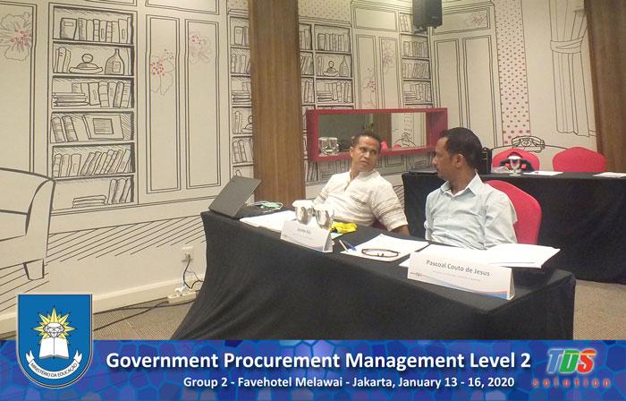 Foto training Government Procurement Management Level 2 [Group II]