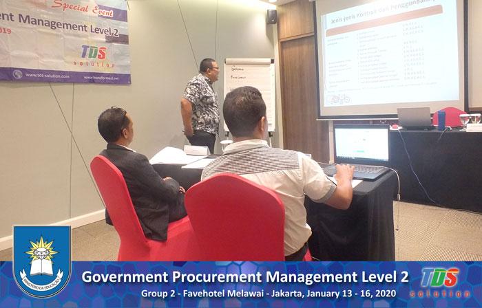 Foto Government Procurement Management Level 2 [Group II]
