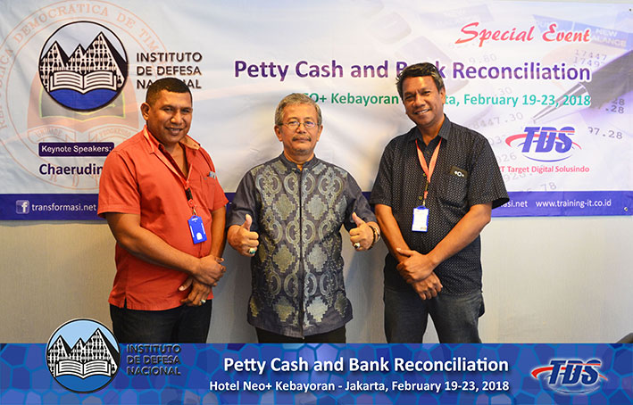 Foto training Petty Cash and Bank Reconciliation