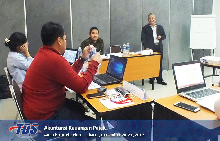 Foto training Akuntasi Keuangan Pajak