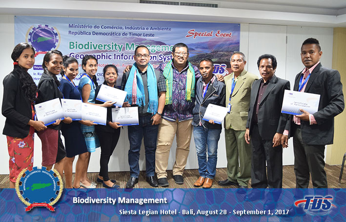 Foto training Biodiversity Management