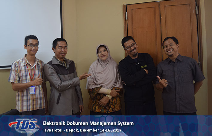 Foto training Electronic Document Management System (EDMS)