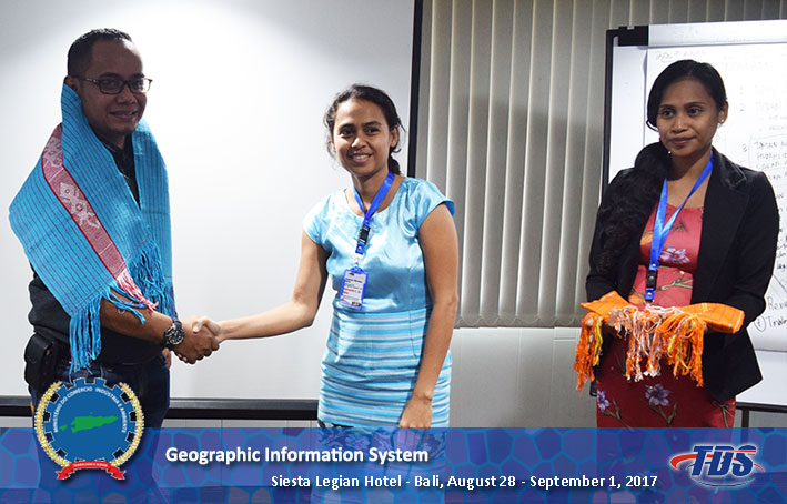 Foto training Geographic Information System (GIS)