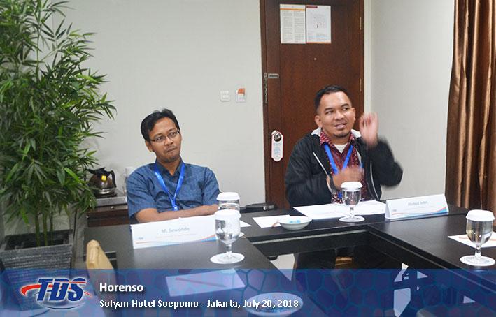 Foto training Horenso
