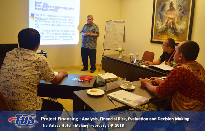 Foto training Project Financing : Analysis, Financial Risk, Evaluation and Decision Making