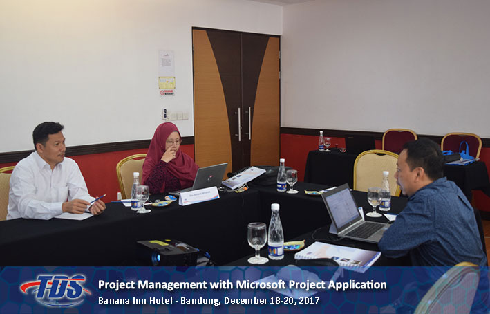Foto training Project Management with Microsoft Project Application