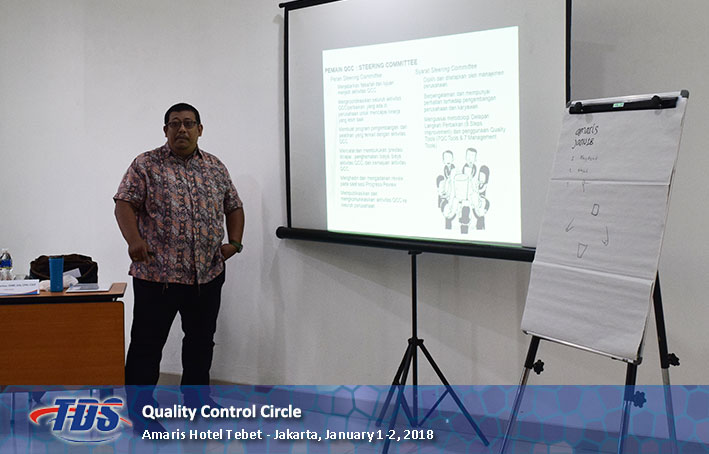 Foto training Quality Control Circle