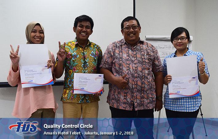 Foto training Quality Control Circle