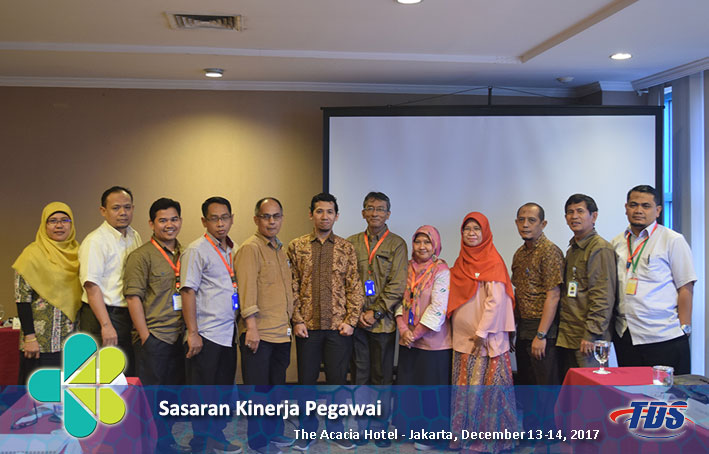 Foto training Sasaran Kinerja Pegawai (SKP)