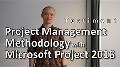 Foto Project Management Methodology With Microsoft Project 2016